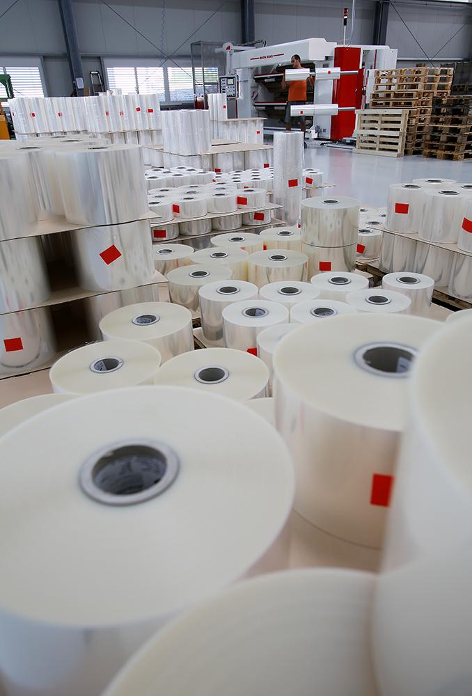 Schlichter-Verpackungsspezialist-Folienproduktion