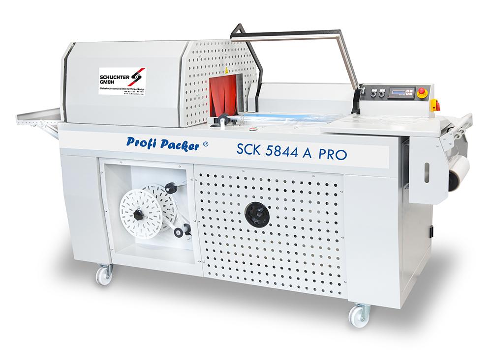 Kompaktschrumpfmaschinen Profi Packer SCK 5844 A Pro