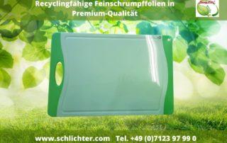 Feinschrumpffolien Recyclingfähige Folien