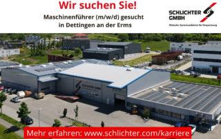 Maschinenfuehrer-gesucht-Schlichter GmbH Dettingen-Erms