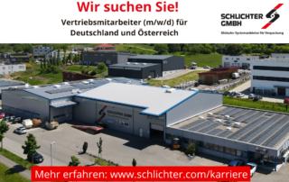 Vertriebsmitarbeiter für Deutschland und Österreich